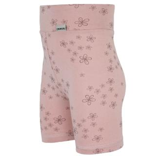 Kid's Bamboo High Waist Shorts Little flowers_Wholepatterned side