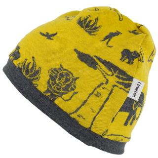 Kid's Merino 1layer Beanie Africa Graphite