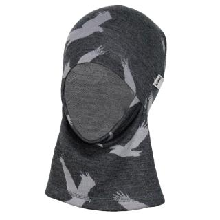Kid's Merino 1layer Ninja Balaclava Eagle Graphite 1