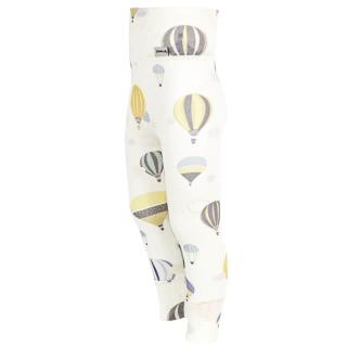Kid's Merino Long High Waist Thin Leggings With Cuffs Balloons Wholepatterned side