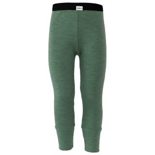 Kid's Merino Sporty Warm Leggings Olive