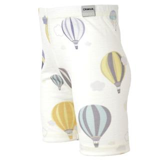Kid's Merino Thin Shorts Balloons Wholepatterned side